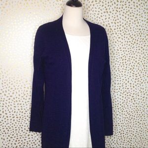 The Limited royal blue duster length cardigan